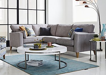 Copenhagen Fabric Corner Sofa in  on FV