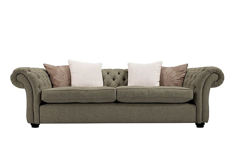 Langham Place 3 Seater Fabric Sofa