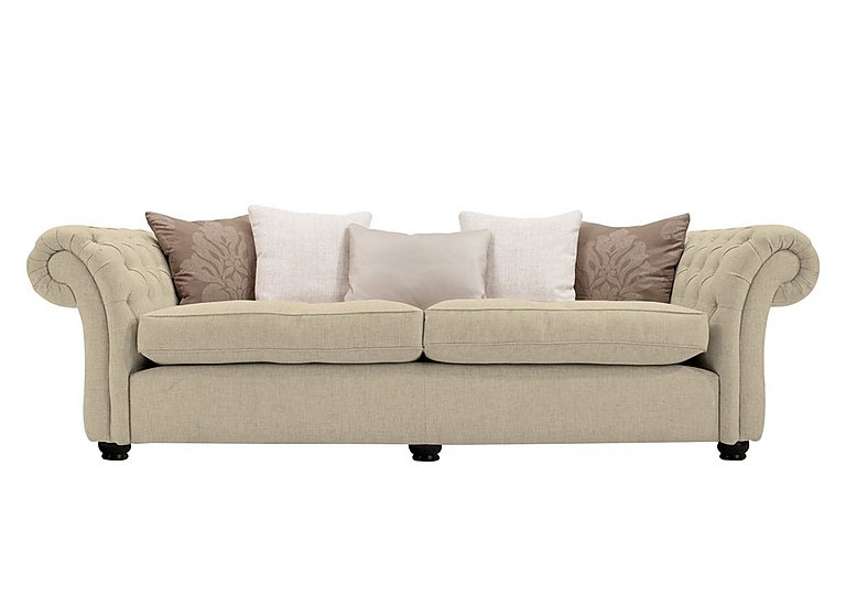 Langham Place 4 Seater Fabric Sofa