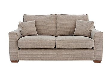 Las Vegas 2 Seater Fabric Sofa Bed in Russon Pebble - Light Ft Col 2 on FV
