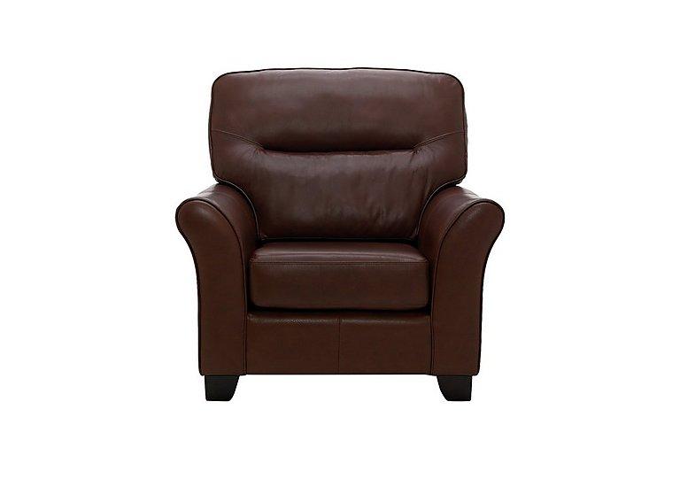 Gemma Leather Armchair