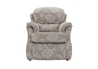 Florence Fabric Recliner Armchair in C650 Harmony Powder on Furniture Village