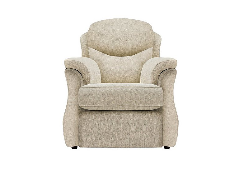 Florence Fabric Lift and Rise Armchair in C932 Rush Sand on FV