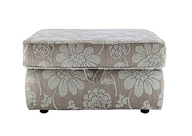 Florence Storage Fabric Footstool