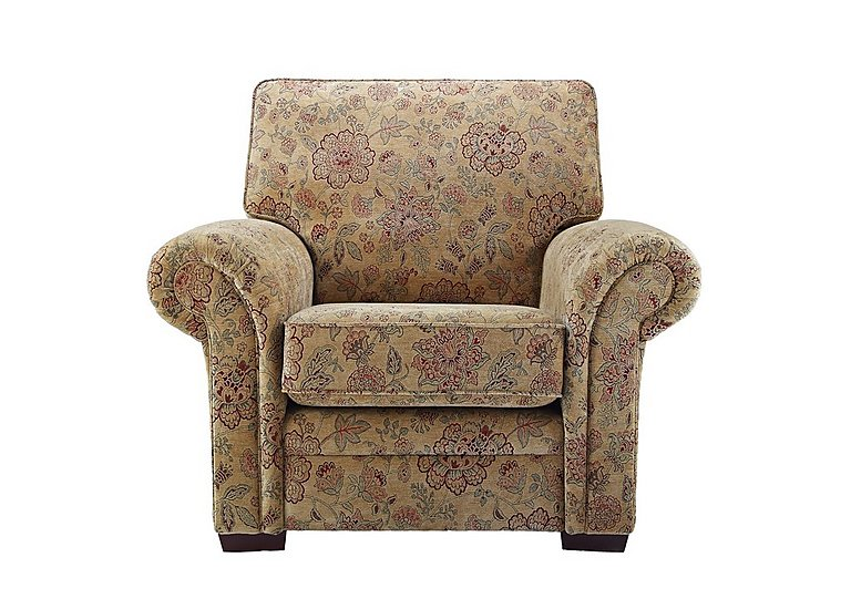 Jasmine Fabric Armchair in C208 Coniston Antique on FV