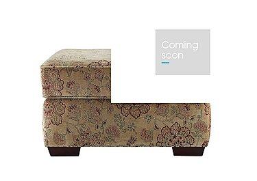 Jasmine Storage Footstool in C208 Coniston Antique on FV