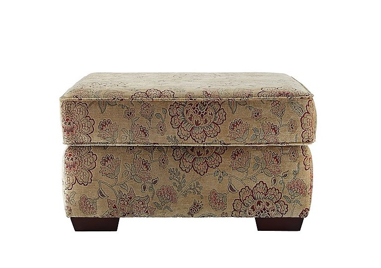 Jasmine Storage Footstool in C208 Coniston Antique on Furniture Village