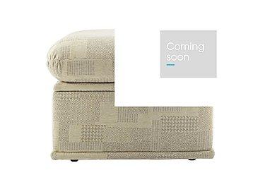 Malvern Fabric Storage Footstool in B430 Lydia Multi on FV