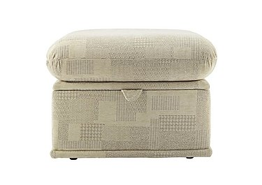 Malvern Fabric Storage Footstool in B430 Lydia Multi on FV