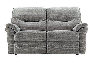 Washington 2 Seater Fabric Recliner Sofa