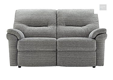Washington 2 Seater Fabric Recliner Sofa  in {$variationvalue}  on FV