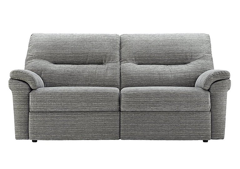 Washington 3 Seater Fabric Recliner Sofa in B902 Victoria Grey on FV