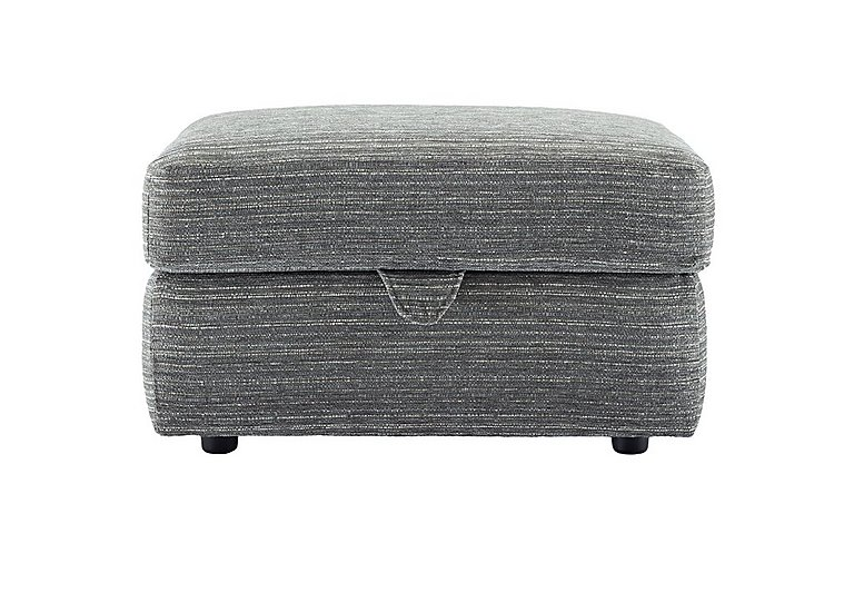 Washington Storage Footstool in B902 Victoria Grey on FV