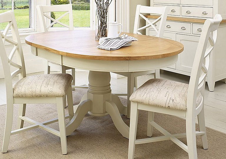 Round Extendable Dining Table And Chairs - Starrkingschool