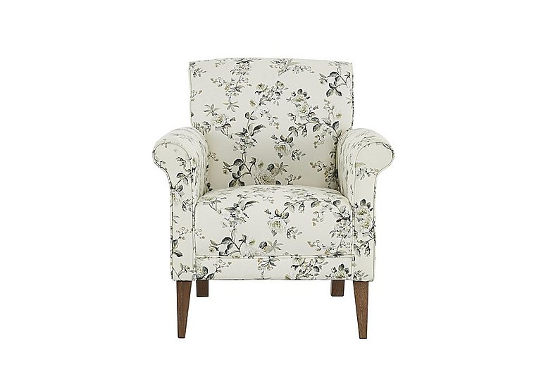 Diversity Fabric Accent Armchair in Rippon Natural Lo on FV