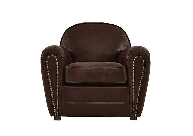 Camden Market Leather Armchair  in {$variationvalue}  on FV