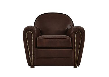 Camden Market Leather Armchair