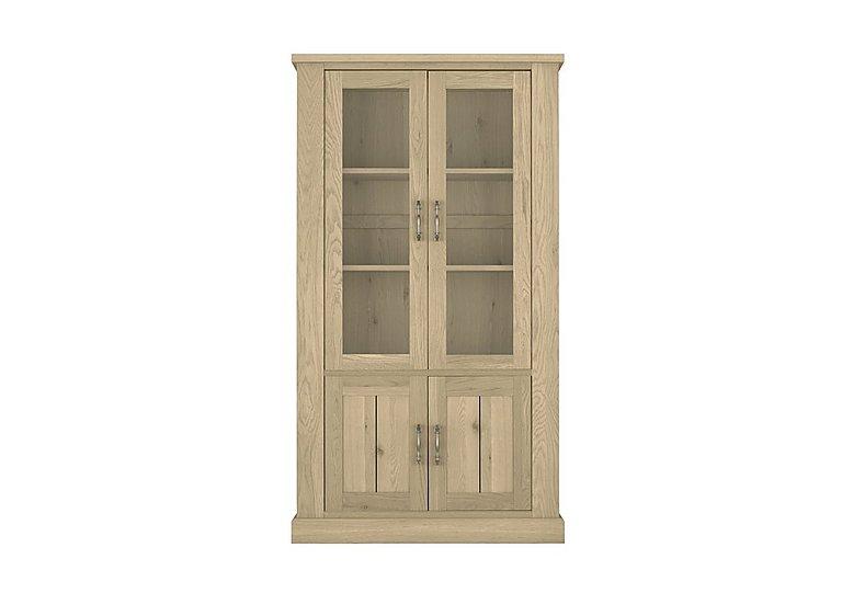 Pierre Display Cabinet in Oak on FV