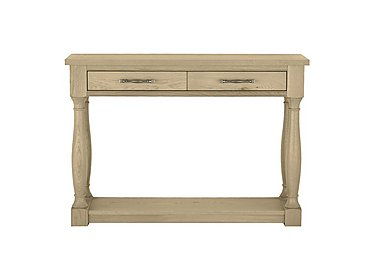Pierre Console Table in Oak on FV