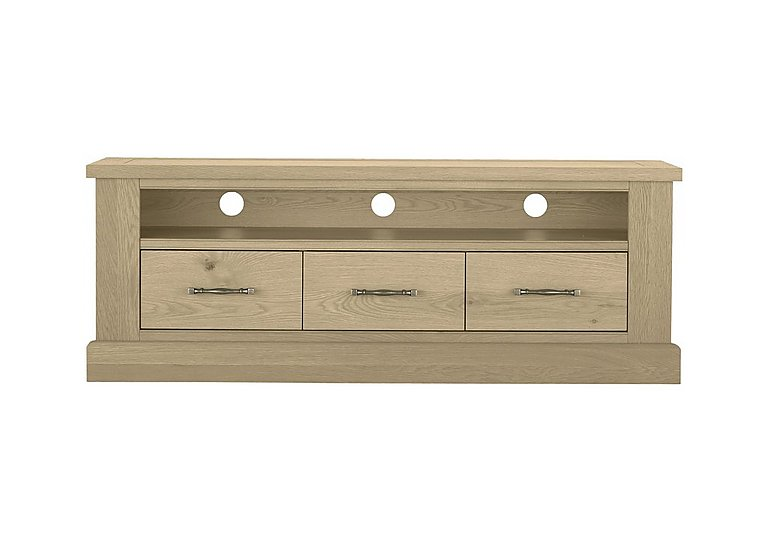 Pierre Entertainment Unit in Oak on FV