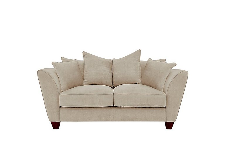 Tangier 2 seater fabric pillow back sofa furniture village for Furniture village sofa