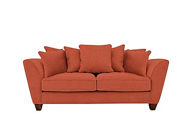 Tangier 3 Seater Fabric Sofa in Cosmo Spice - Dark Feet on FV