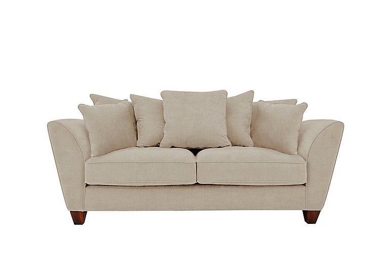 Tangier 3 Seater Fabric Pillow Back Sofa