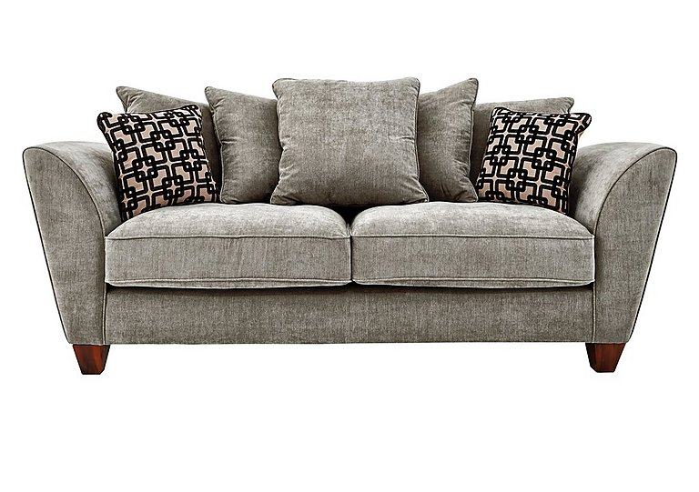 Tangier 3 seater fabric sofa furniture village for Furniture village sofa