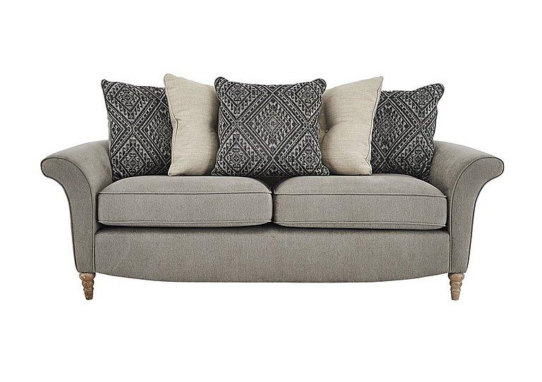 Diversity Fabric 3 Seater Sofa