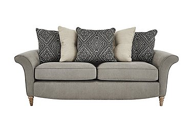 Diversity Fabric 3 Seater Sofa