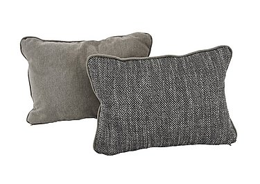 Diversity Fabric Bolster Cushions in Brooklyn Grante/Cosmo Mist on FV