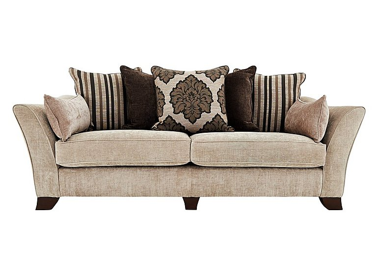 Furniture Village Annalise annalise 4 seater scatter back fabric sofa - furniture village