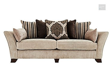 Annalise 4 Seater Fabric Sofa  in {$variationvalue}  on FV