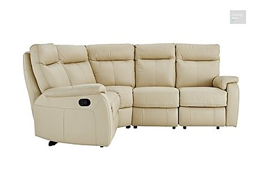 Jemima Leather Left Hand Facing Corner Sofa - Limited Stock  in {$variationvalue}  on FV