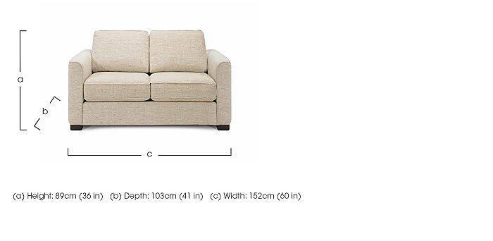 Eleanor 2 Seater Fabric Sofa - Limited Stock