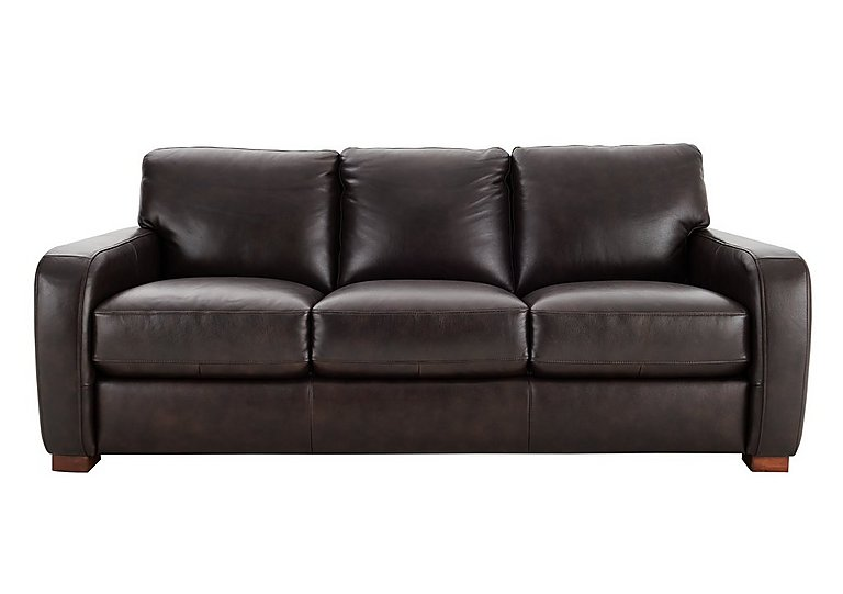 Scotch Mist 3 Seater Leather Sofa - Limited Stock