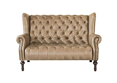 New England Windham 2 Seater Leather Sofa - Limited Stock