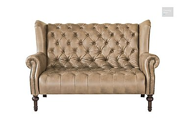 New England Windham 2 Seater Leather Sofa - Limited Stock  in {$variationvalue}  on FV