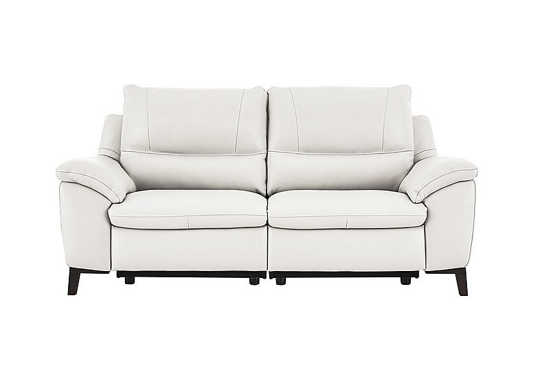 Puglia 2 Seater Leather Recliner Sofa