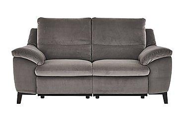 Puglia 2.5 Seater Fabric Recliner Sofa
