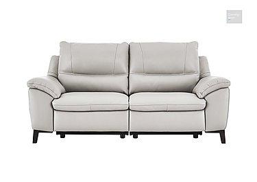 Puglia 2.5 Seater Leather Recliner Sofa  in {$variationvalue}  on FV