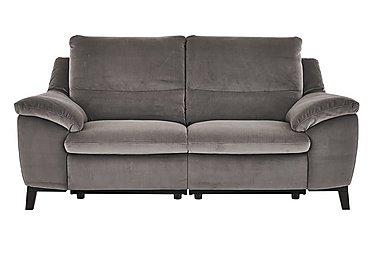 Puglia 3 Seater Fabric Recliner Sofa