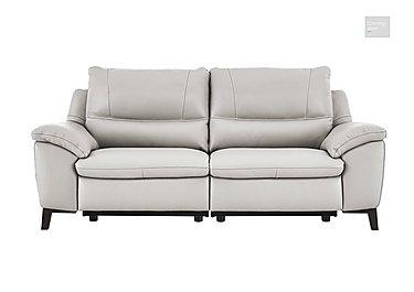 Puglia 3 Seater Leather Recliner Sofa  in {$variationvalue}  on FV