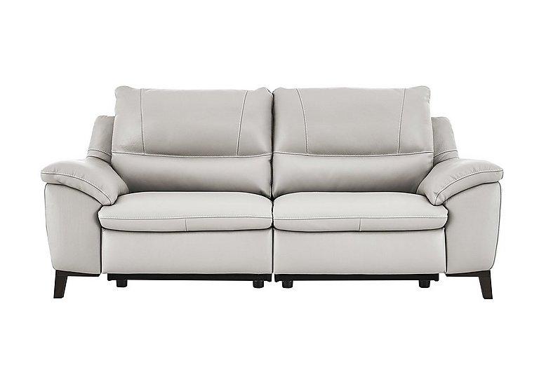 Puglia 3 Seater Leather Recliner Sofa