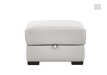 Puglia Leather Storage Footstool  in {$variationvalue}  on FV