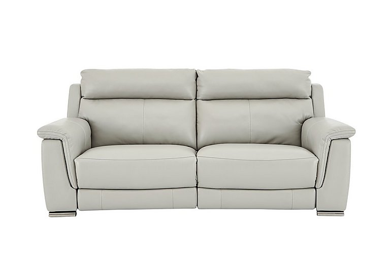 Glider 2 Seater Leather Recliner Sofa - Limited Stock