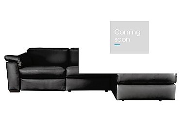 Sensor Right Hand Facing Power Recliner Corner Chaise - Only One Left! in Dream 20jf Black on FV