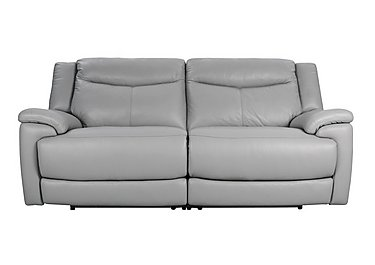 Modena 3 Seater Leather Power Recliner Sofa - Limited Stock