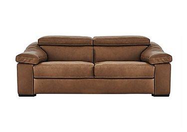 Sanremo 2 Seater Leather Sofa