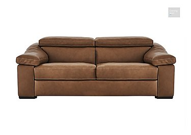Sanremo 2 Seater Leather Sofa  in {$variationvalue}  on FV